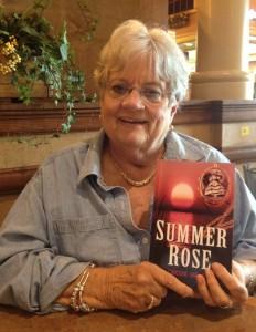 Caroline Hartman w book